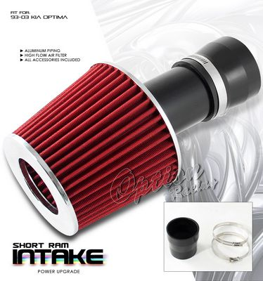 Kia Optima 1993-2003 Black Short Ram Intake System