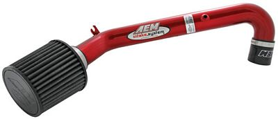 Honda Civic 1996-2000 AEM Red Short Ram Intake System