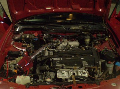 Acura Integra 1994-2001 Short Ram Intake with Red Air Filter