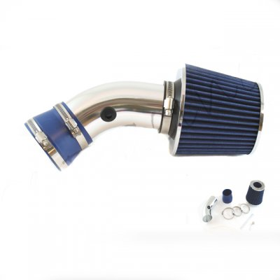 Chevy Monte Carlo 1995-2005 Polished Short Ram Intake with Blue Air Filter