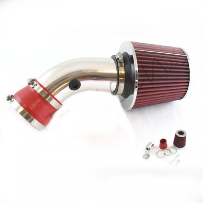 Chevy Monte Carlo 1995-2005 Polished Short Ram Intake with Red Air Filter