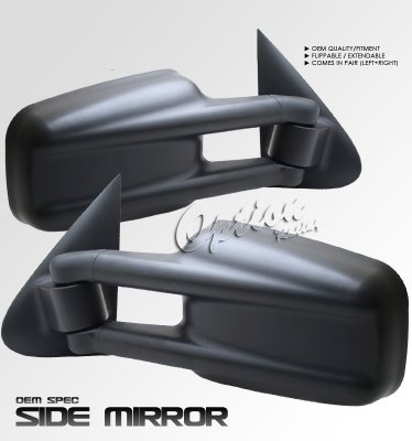Gmc Sierra 2500hd 1999 2002 Black Manual Extendable Towing