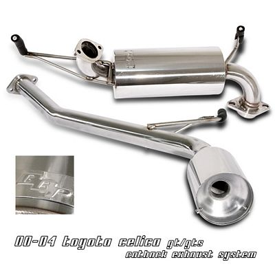 Toyota Celica 2000-2004 Cat Back Exhaust System