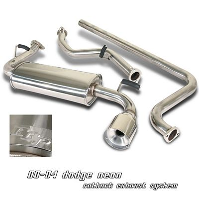 Dodge Neon 2000-2004 Cat Back Exhaust System