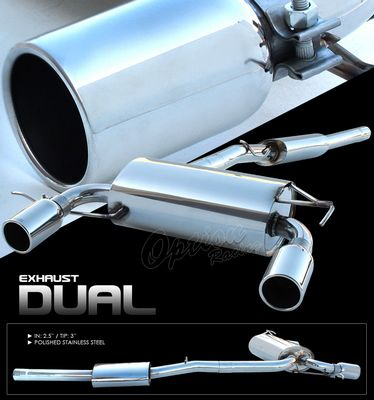 Audi TT 1999-2007 Cat Back Exhaust System