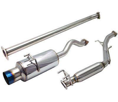 Honda Civic 2006-2008 Cat Back Exhaust System with Titanium Tip