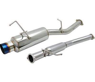 Nissan 240SX 1989-1994 Cat Back Exhaust System with Titanium Tip