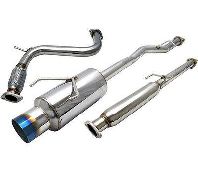 Honda Accord 1994-1997 Cat Back Exhaust System with Titanium Tip