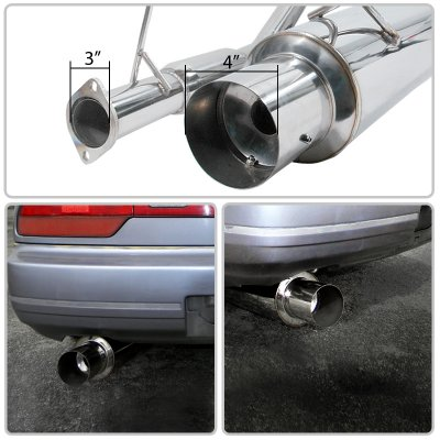 Nissan 240SX S13 1989-1994 Cat Back Exhaust System