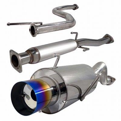 Acura Integra 1994-2001 Cat Back Exhaust System with Titanium Tip