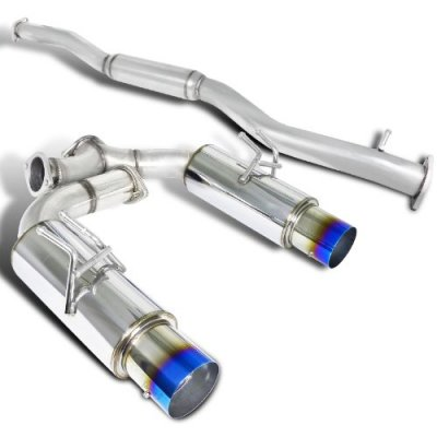 Mitsubishi Lancer Evolution X 2008-2012 Cat Back Exhaust System with Titanium Tip
