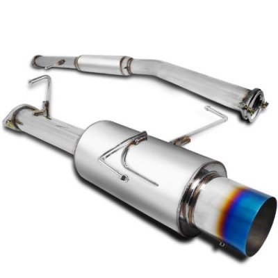 Nissan 240SX 1995-1999 Cat Back Exhaust System with Titanium Tip