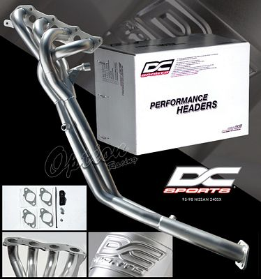 Nissan 240SX 1995-1998 DC Sports 4-2-1 Ceramic Race Headers