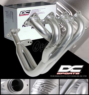 Honda Civic Si  1999-2000 DC Sports 4-2-1 Ceramic 1-Piece Headers
