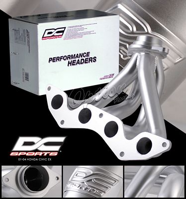 Honda Civic EX 2001-2004 DC Sports 4-1 Ceramic 1-Piece Headers