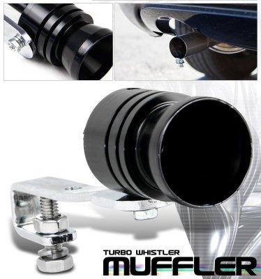Turbo Muffler Exhaust Sound Whistler Black