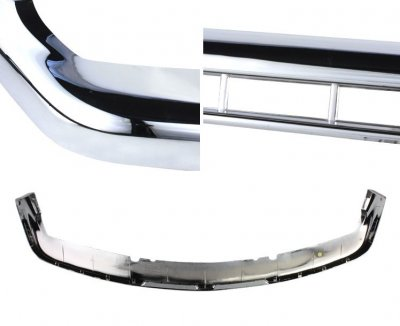 Chevy Suburban 2000-2006 Chrome Upper Bumper Filler