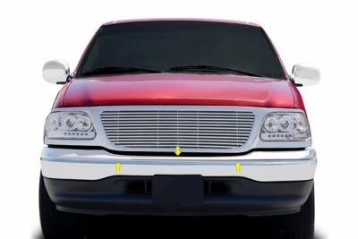 Ford F150 1999-2003 Chrome Upper Bumper Filler