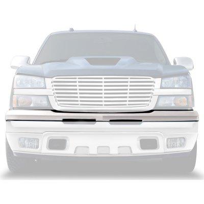 Chevy Silverado 2003-2006 Chrome Upper Bumper Filler Panel
