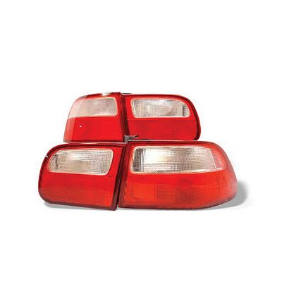 Honda Civic Hatchback 1992-1995 JDM Tail Lights