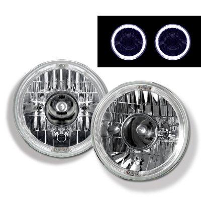 Mazda Miata 1990-1997 Sealed Beam Projector Headlight Conversion White Halo