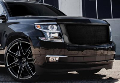 Chevy Suburban 2015-2019 Front Grill Black Mesh | a1334l65149 - TopGearAutosport