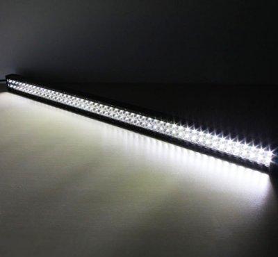 Jeep Wrangler JK 2007-2015 Dual LED Light Bars with Mounting Brackets