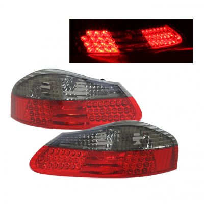 Porsche Boxster 1997 2004 Depo Led Tail Lights Red And