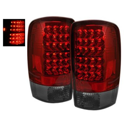 Chevy Tahoe 2000-2006 LED Tail Lights Red and Smoked