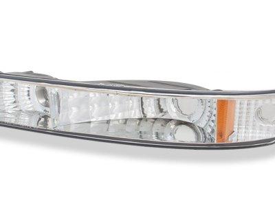 GMC Sierra 1999-2006 Chrome Headlights and Bumper Lights