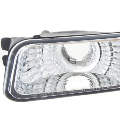 GMC Sierra 1999-2006 Chrome Bumper Lights