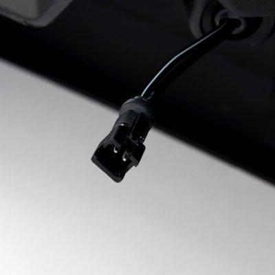Ford F150 2009-2014 LED DRL Front Upper Bumper Cover Black