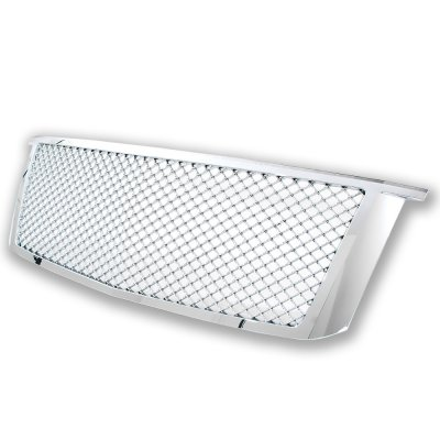 Chevy Suburban 2015-2019 Front Grill Chrome Mesh