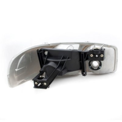 GMC Sierra 1999-2006 Clear Headlights and Bumper Lights