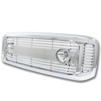Ford Excursion 2000-2004 Chrome Billet Grille and Fog Lights