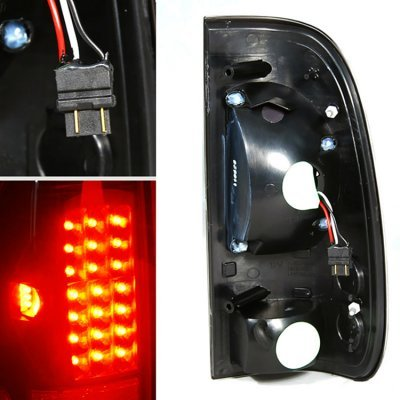 Ford F150 1997-2003 Smoked Headlights LED DRL Signal and LED Tail Lights