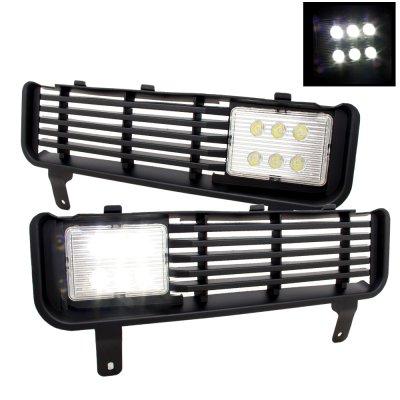 Dodge Ram 1994-2001 LED Fog Lights and Bumper Grille Kit