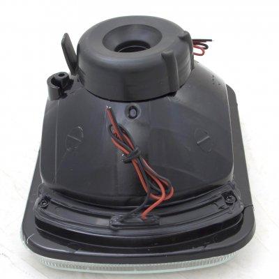 Pontiac Fiero 1984-1988 Red LED Sealed Beam Headlight Conversion