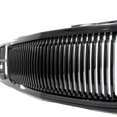 GMC Suburban 1994-1999 Front Grill Black Vertical Bars