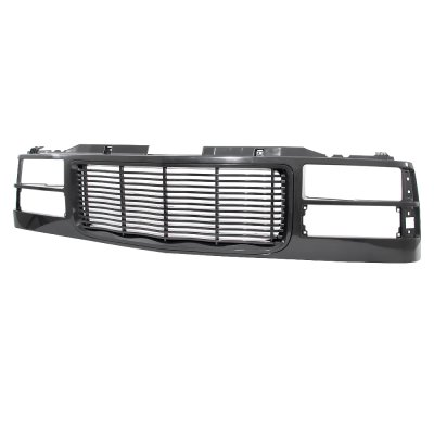 GMC Suburban 1994-1999 Black Wave Billet Grille