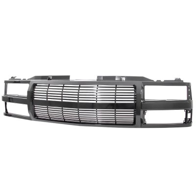 Chevy Suburban 1994-1999 Black Billet Grille