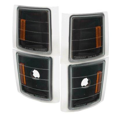 Chevy Silverado 1994-1998 Black Corner Lights