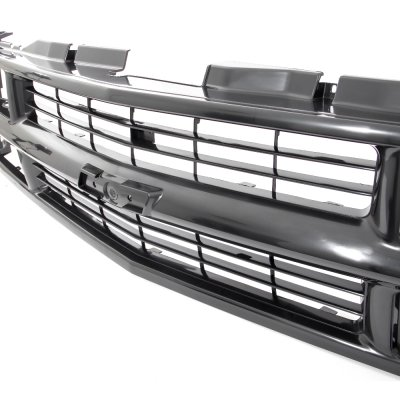 Chevy 1500 Pickup 1994-1998 Black Grille and LED DRL ...
