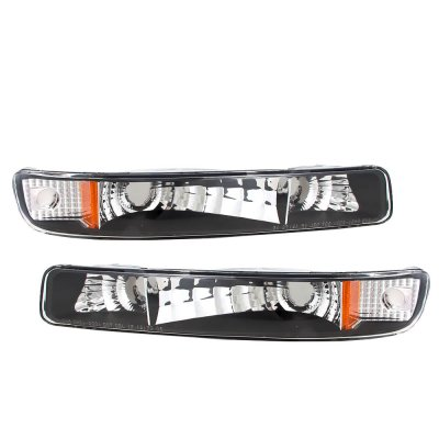 GMC Yukon 2000-2006 Black Bumper Lights
