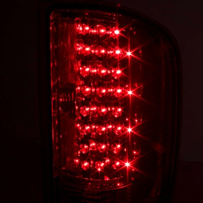 Chevy Silverado 2500HD 2007-2014 LED Tail Lights Red Clear