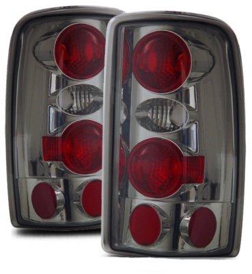GMC Suburban 2000-2006 Smoked Custom Tail Lights