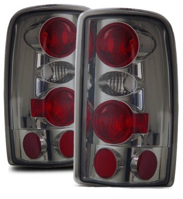 GMC Yukon XL 2000-2006 Smoked Custom Tail Lights