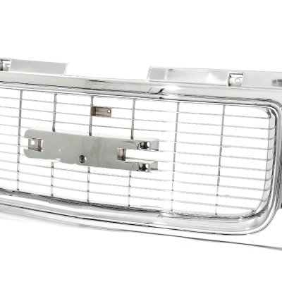 GMC Suburban 1994-1999 Chrome Grille and Headlights Set