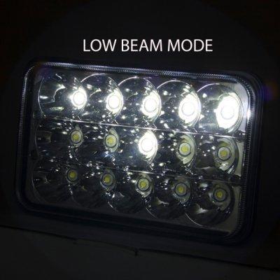 1979 Cadillac Eldorado Full LED Seal Beam Headlight Conversion Low and High Beams