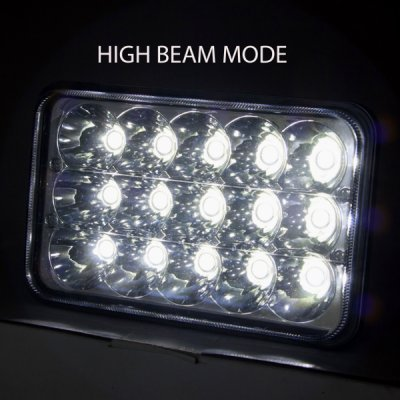 1979 Chevy Caprice Full LED Seal Beam Headlight Conversion Low and High Beams